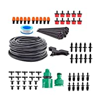 Matefield DIY 4/7 Hose Drip Irrigation System Garden Automatic Watering Plant Kits