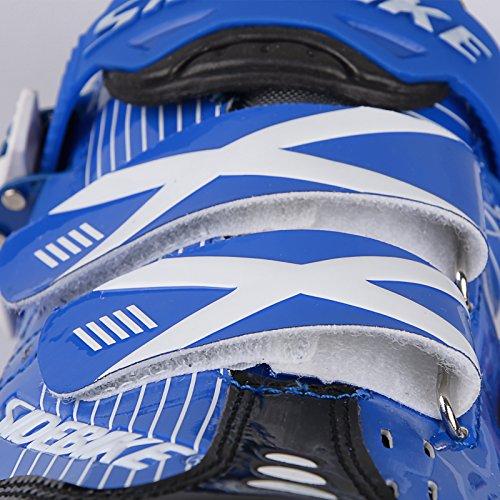 Unisexe respirant chaussures de vélo professionnels pour route et VTT SD-003 Bleu / Noir pour le Route
