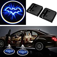 Sedeta 2ST LED-Auto-Tür-Willkommens-Projektor Batman Muster Courtesy-Geist-Schatten-Licht