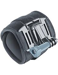 USA Gear soutien Sangle de poignet avec bande en velcro ajustable en néoprène rembourré et adaptateurs pour GoPro, appareils photo d'Action, caméscopes et appareils photo numériques–Idéal au-dessus aux gants