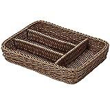 Saleen 2038805 canasta de Brown Cubierta
