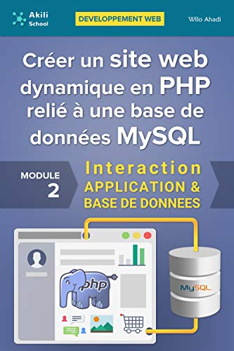 Créer un site web dynamique en PHP relié à une base de données MySQL: Interaction APPLICATION & BASE DE DONNÉES (Développement web) par