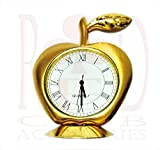 #4: Apple Shaped Clock Watch (Small) for Car/ Office/ Home with Complementary RedClub Pen Free