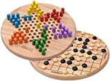 Chinese Checkers with Free Go Bang on Reverse