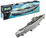 Revell Modellbausatz Schiff 1:72 - Deutsches U-Boot TYPE IX C/40 (U190) im Maßstab 1:72, Level 4, originalgetreue Nachbildung mit vielen Details, 05133