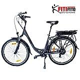 Fitifito Amsterdam 26 Zoll Elektrofahrrad Citybike E-Bike...