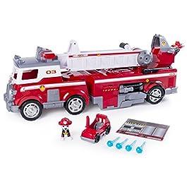 Paw Patrol, Mega Camion dei Pompieri di Marshall, con Scala Allungabile, dai 3 Anni – 6043989