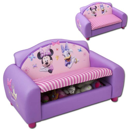 Kindersofa mit Motivauswahl (Minnie Mouse)
