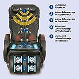 Massagesessel »Komfort Deluxe«, mit Shiatsu-Massagefunktion, drehbar, Transportrollen - 3