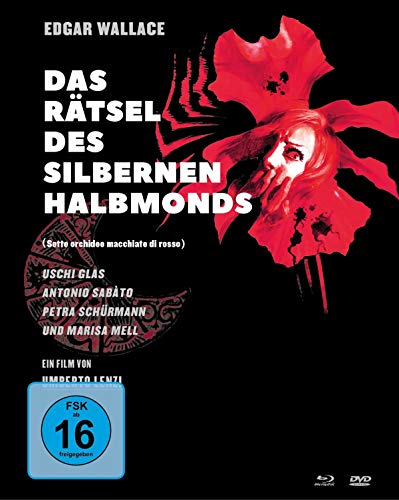 Edgar Wallace: Das Rätsel des silbernen Halbmonds (Mediabook, 1 Blu-ray + 2 DVDs)