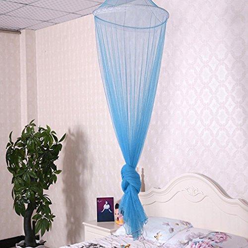 FairytaleMM Outdoor Sommer Runde Spitze Insekt Bett Baldachin Netting Vorhang Polyester Mesh Stoff...