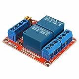 Ils - 3 Stücke 12V 2 Kanal Relais Modul mit Optokoppler Unterstützung High Low Level Trigger für Arduino