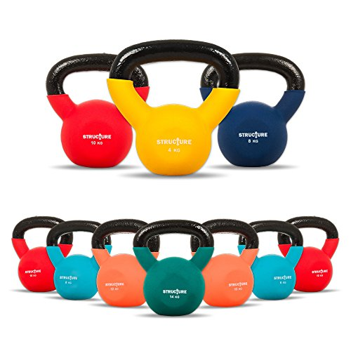 structure-fitness-r-single-coloured-cast-iron-gym-kettlebell-sear-away-fat-tone-improve-fitness-and-