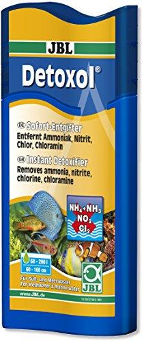 JBL Detoxol Sofort-Entgifter für gesundes Aquarienwasser 250ml (Chloramin Entfernung)