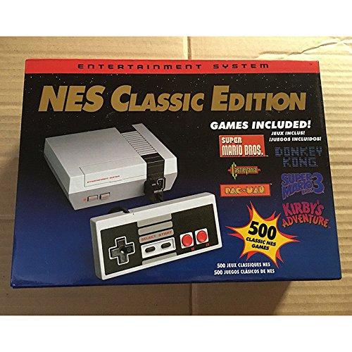 LanLan Classic Edition Mini Entertainment Console con 2 controladores 8 Bit 500 Games Retro Video Game Player Juguetes para niños Perfect Gifts