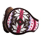 Get Your Ear Warmer - Stylish Cozy Unisex Earmuff - Snowflake Pattern,B