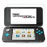 TUTUO Protecteur d'écran pour Nintendo Nouveau 2DS XL Verre Trempé 9H pour Écran Supérieur * 1 e pour Écran Bas * 1, Haute...