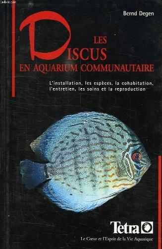 Les discus en aquarium communautaire