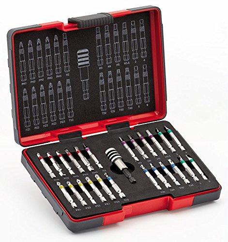 Preisvergleich Produktbild USAG 664 S25-Sortiment mit langen Bits (für Schlagschrauber,  25 Teile) U06640111