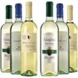 Le Bon Vin Italian White Wine Selection Mixed Case Non Vintage 75 cl (Case of 6)