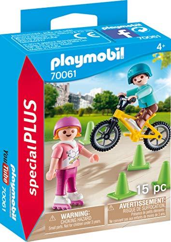Playmobil 70061Special Plus Niños M. Patines en línea y BMX