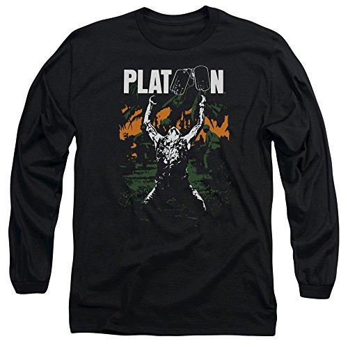 Platoon -  Maglia a manica lunga  - Uomo Black