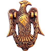 YES I CAN Vintage Eagle Design Antique Brass Door Knocker