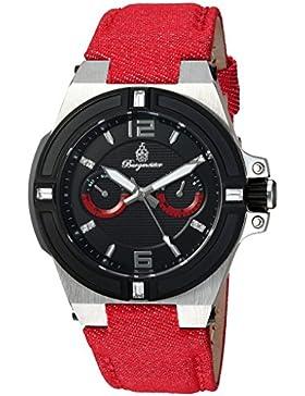 Burgmeister Armbanduhr für Damen mit Analog Anzeige, Quarz-Uhr und Textil Armband - Wasserdichte Damenuhr mit...
