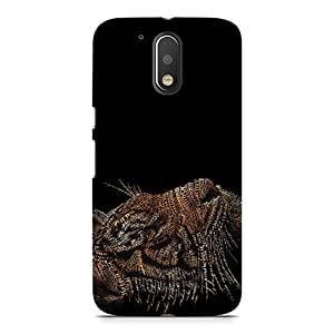 Hamee Designer Printed Hard Back Case Cover for Motorola Moto M Design 9867