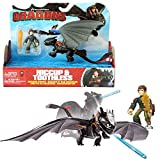 Spin Master Dragon Sdentato e Hiccup Trainer | Set di Giochi d'azione | DreamWorks Dragons