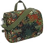 Kampftasche groß Flecktarn Umhängetasche Canvas Handtasche Shopper Bag Fa. Bowatex
