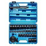 KRAFTPLUS® K.267-2052 Coffret d'extracteurs à frapper de roulements / arrache roulement paliers rondelles de montage - 52 pièces