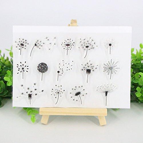 Gummi, perfekt klar, Fotoprägung, Album Dekorative Karten, Transparente Silikonstempel zum Selbstkleben ()