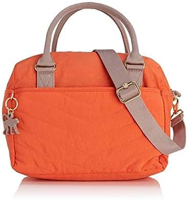 Kipling Beonica Bp, Sacs portés main mode femme - Orange (Spicy Orange Qu), Taille Unique