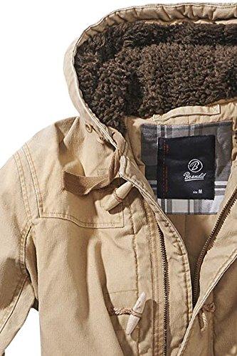 Brandit Herren Parka Woodson Heavy Outdoorparka Camel