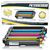 4er Pack Patronenbob® XL Toner für Brother TN-241 TN-245 DCP-9020 CDW HL-3140 3150 3170 CW CDN CDW MFC-9130 9140 9330 TN241 TN245