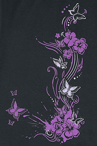 Full Volume by EMP Butterflies T-shirt Femme lilas Lilas