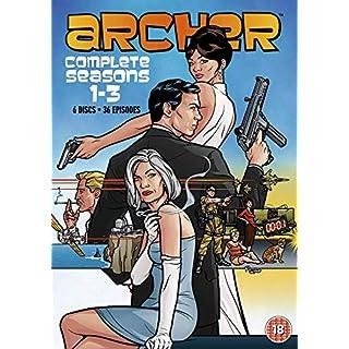 Archer - Season 1-3 (Exclusive to Amazon.co.uk) [DVD]
