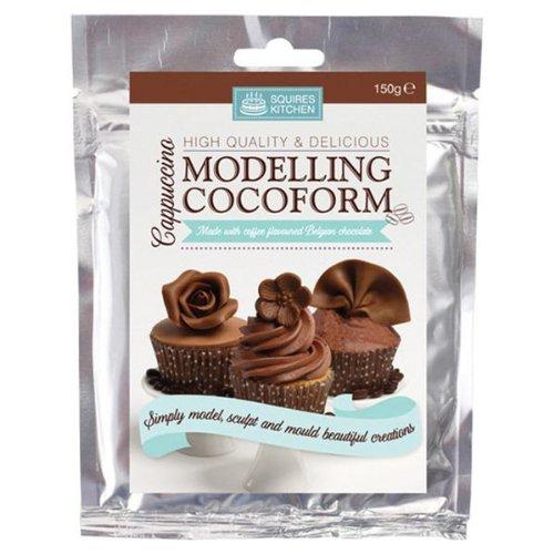 Cake Company Modellier-Schokolade | 150 g | Modellier-Masse mit Cappuccino- Schokolade |...
