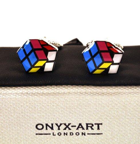 Preisvergleich Produktbild Cufflinks - Rubik's Cube