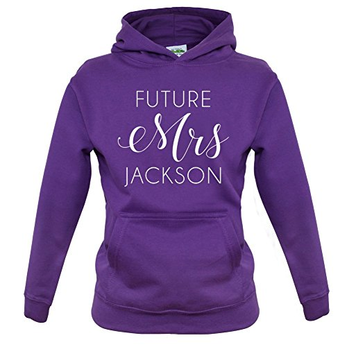 Future Mrs Jackson - Childrens / Kids Hoodie - 9 Colours - Ages 1-13 Years