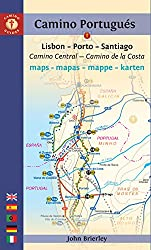 Mapa-Guía Camino portugués (Lisboa-Oporto-Santiago). Findhorn. (Camino Guides) [Idioma Inglés]