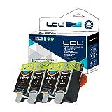 LCL Cartouche d'encre Compatible INK-M210 INK-M215 INK-C210 M210 M215 C210 (2Noir 2Couleur) Remplacement pour Samsung CJX-1000/1050W/2000