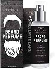 The Perfumer Beard Perfume for Men | No Oil | Manly Fresh Scent | Crafted In Spain | Alcohol Free | No Paraben