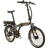 Remington Urban Folder 20 Zoll Faltrad E-Bike Klapprad Pedelec StVZO, Farbe:Silber