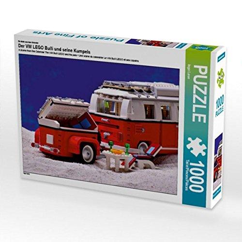 Preisvergleich Produktbild Ein Motiv aus dem Kalender Der VW LEGO Bulli und seine Kumpels 1000 Teile Puzzle quer (CALVENDO Hobbys)