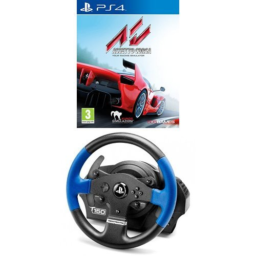 Assetto Corsa With A Thrustmaster T150 Force Feedback Wheel (ps4)