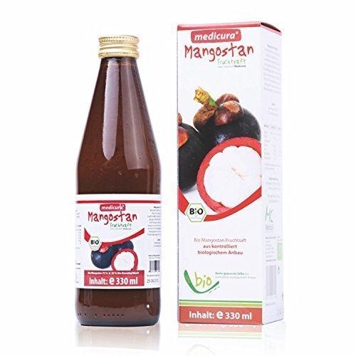 Bio Mangostan Saft (Bio Mangostan Fruchtsaft, 330 ml)