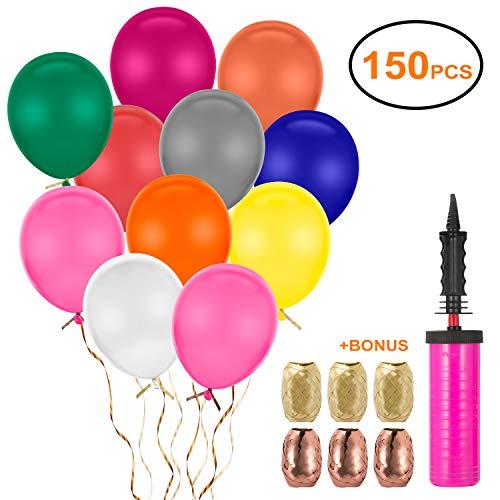 FORMIZON 150 Ballons Colorés ave...