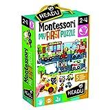 Headu Montessori First Puzzle The City